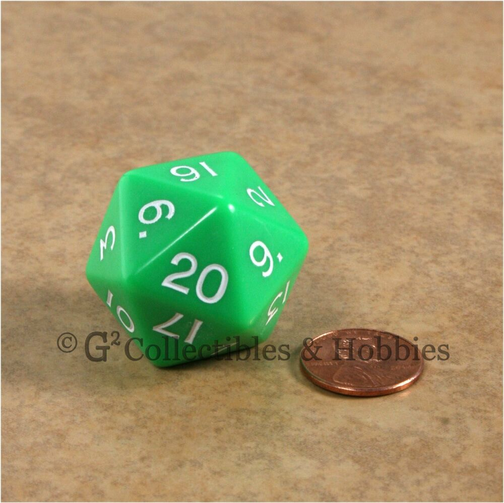 30 sided die vs 20 sided die game