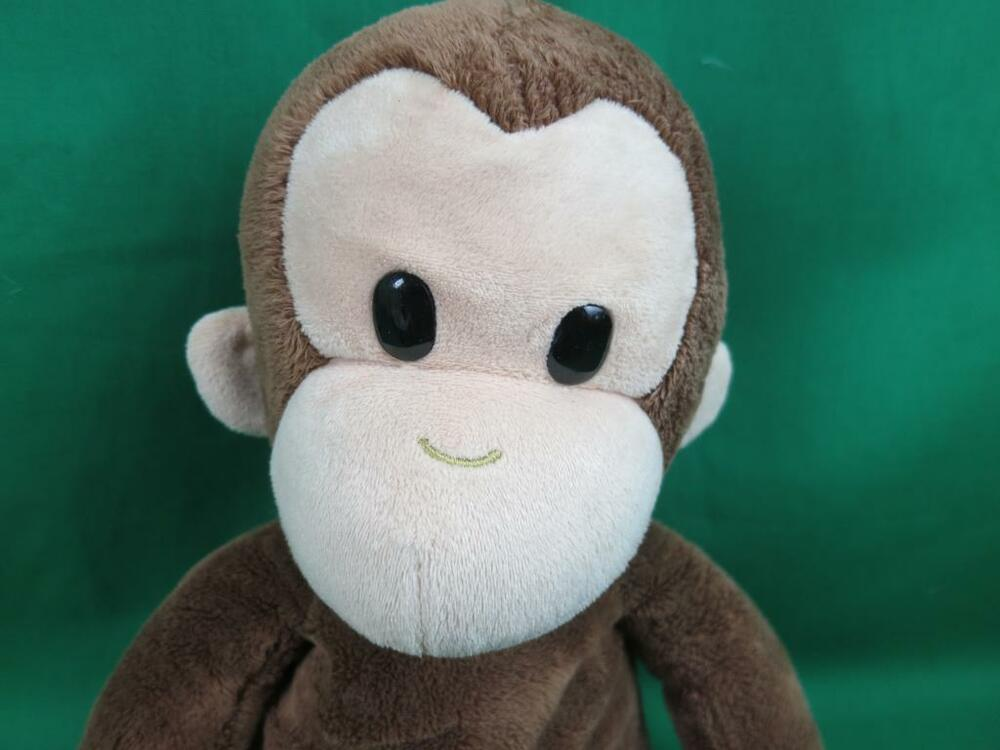 plush curious george applause stuffed animal monkey big cute cartoon soft ebay. Black Bedroom Furniture Sets. Home Design Ideas