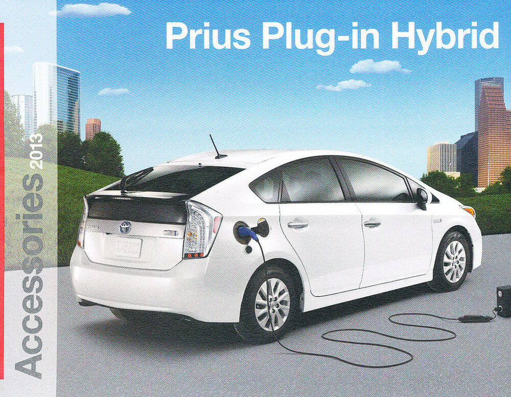 2013 toyota prius plug in electric car dealer accessories. Black Bedroom Furniture Sets. Home Design Ideas