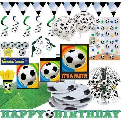 kinder geburtstag fussball party deko geschirr riesen auswahl ebay. Black Bedroom Furniture Sets. Home Design Ideas