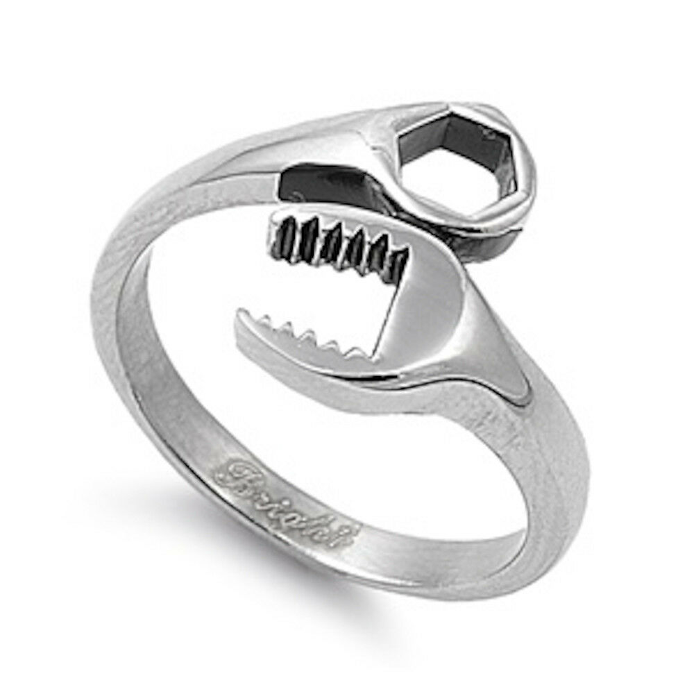 Heavy Wrench Shaped Tools Handyman Stainless Steel Ring. Brilliant Cut Wedding Rings. Ancient Viking Wedding Rings. Stone Inside Wedding Rings. Breathable Rings. 3 Stone Infinity Engagement Rings. Keepsake Engagement Rings. Saphire Wedding Rings. Replica Engagement Rings