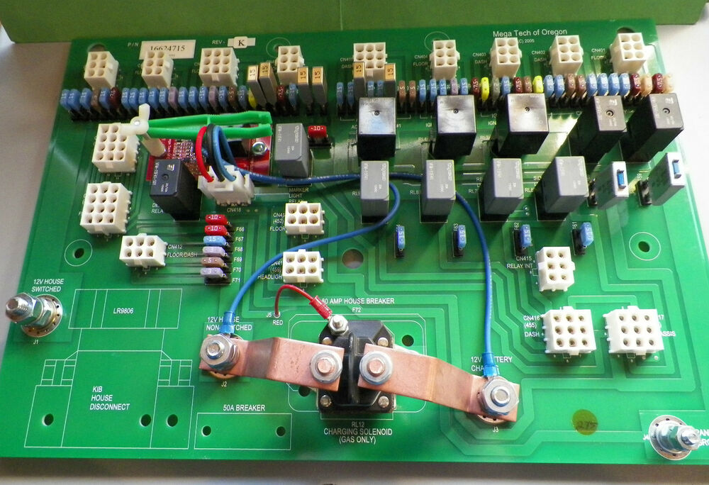 Home Customer Support Parts Battery Backup Circuit Board