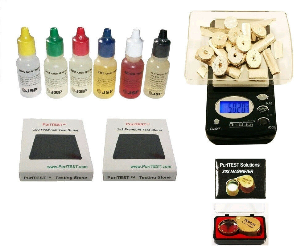 Gold Tester New : Be aware of closeout gold testing acids not here new g