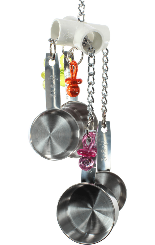 Bird Cage Toys : Clacker bonka bird toy parrot cage cages african
