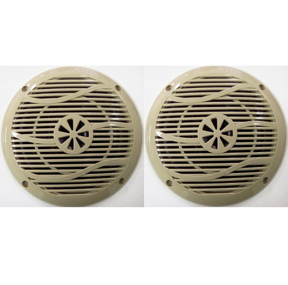 New Pair 6 Quot Outdoor Marine Speakers Rv Camper Trailer Boat