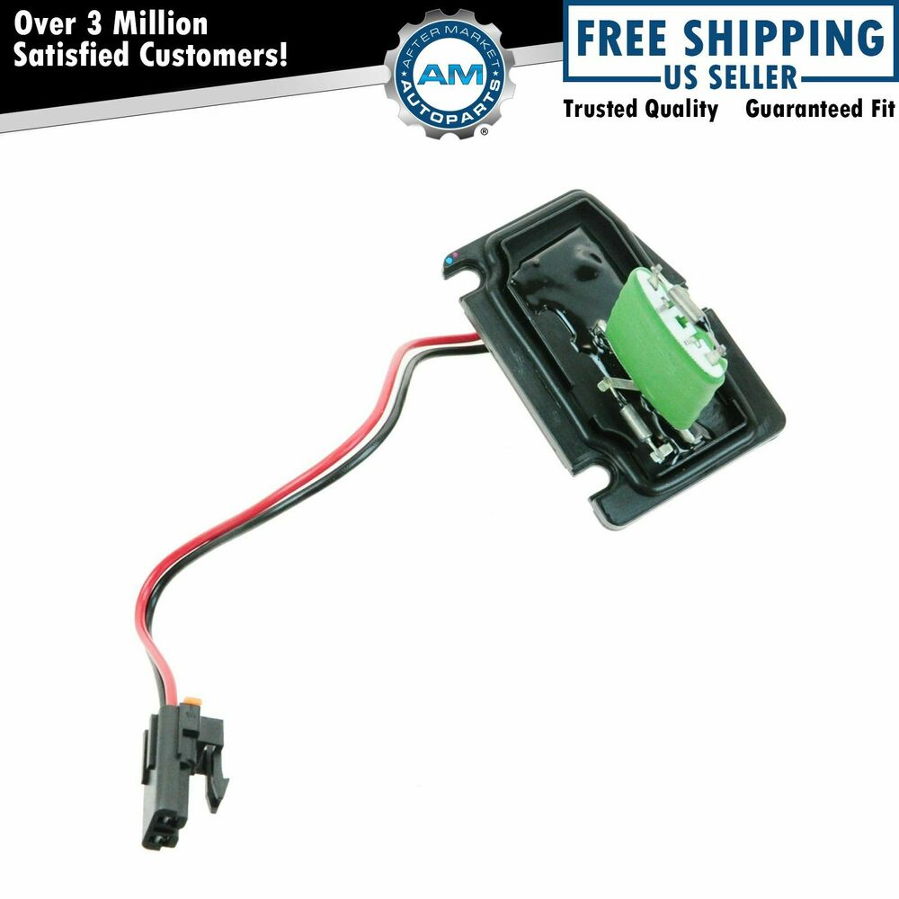 Front Heater Blower Motor Resistor For Chevy Pontiac