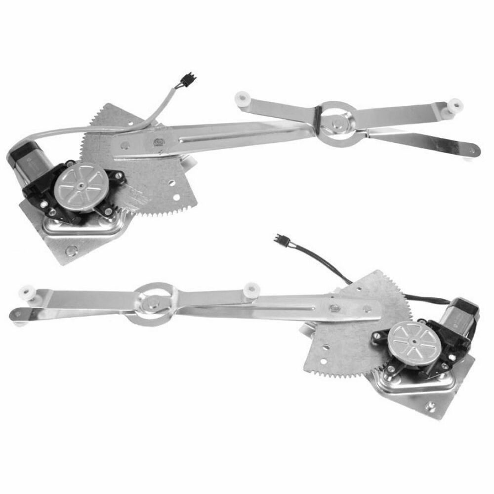 Front window regulator w motor pair set for 81 96 chevy Window motor and regulator cost