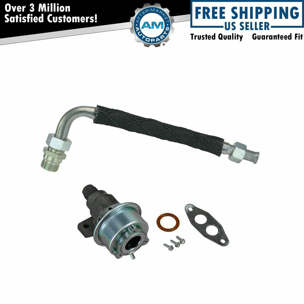 emissions egr tube and valve kit for ford bronco truck van 5 8l v8 ebay. Black Bedroom Furniture Sets. Home Design Ideas