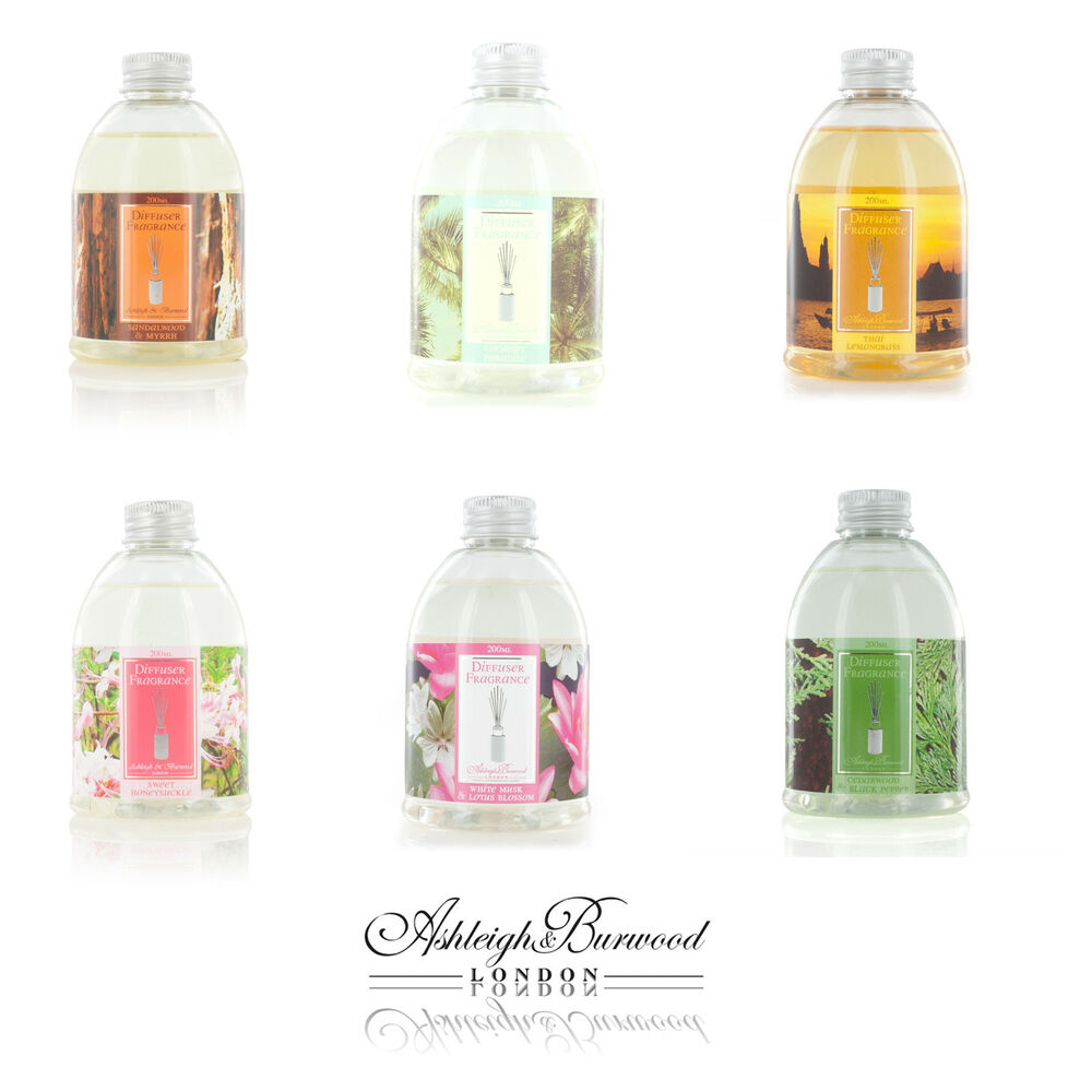 Airpure Reed Diffuser Home Collection Linen Room 30 Ml: Ashleigh & Burwood Reed Oil Diffuser Refill 180ml Variety