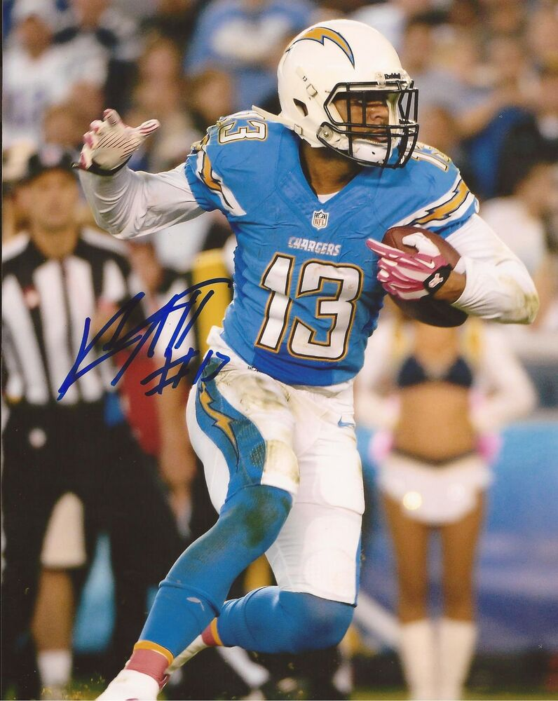 Keenan Allen 13 San Diego Chargers Signed Autographed