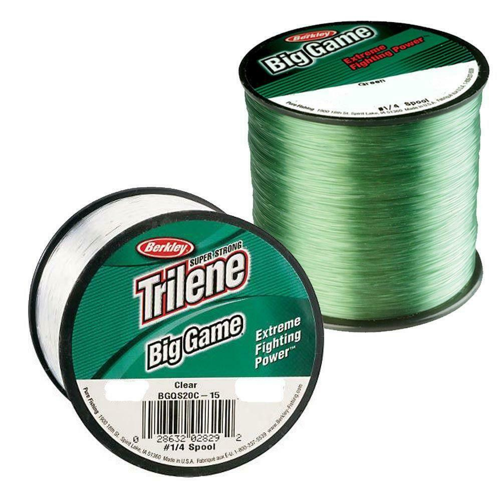 berkley big game mono sea beach carp fishing line green or