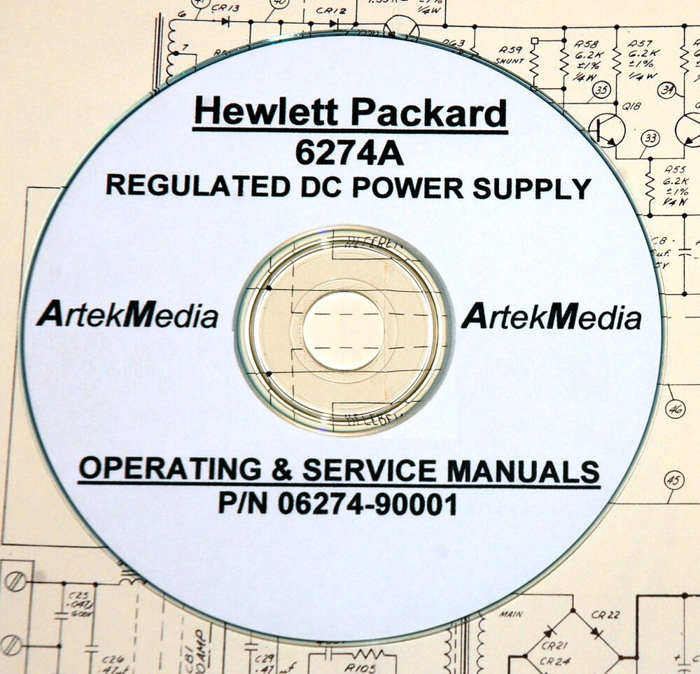 Hp 6643a Power supply manual