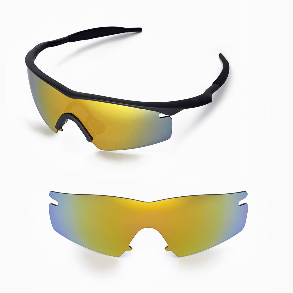 Wl Polarized 24k Gold Replacement Lenses For Oakley M