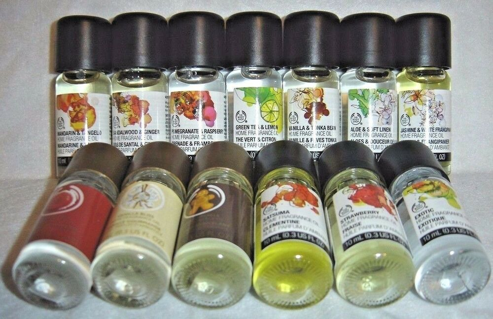The body shop home fragrance oils choose your favorite for Best scented oils for home