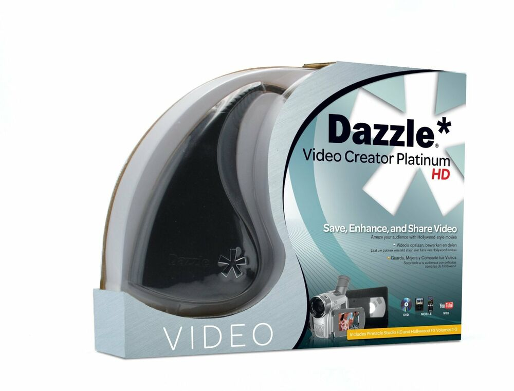 Pinnacle dazzle dvc100 dvc 100 platinum video capture for Image capture