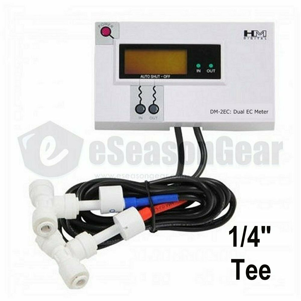 Inline Ph Tester : Hm digital dm ec commercial in line dual monitor