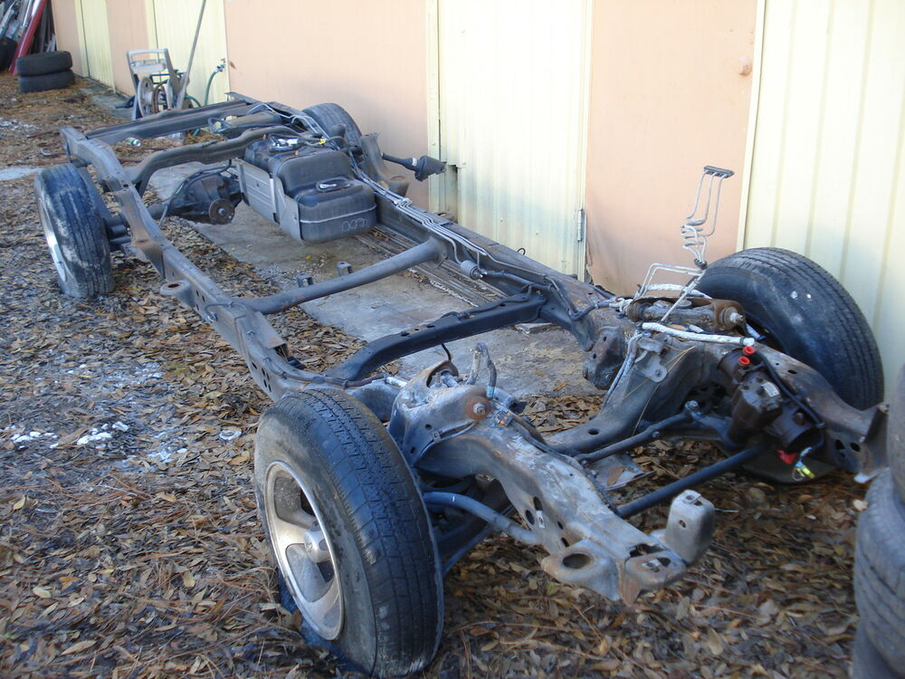 Extended Cab Frame Chevy S10 Truck Sonoma 2wd 81