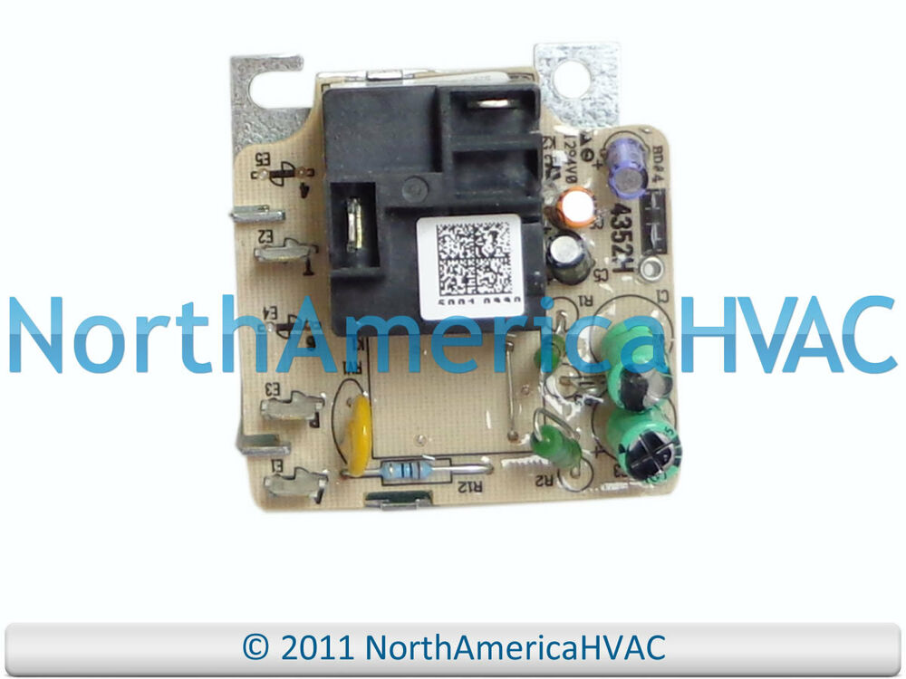 Trane american standard furnace blower motor relay fan for American standard fan motor