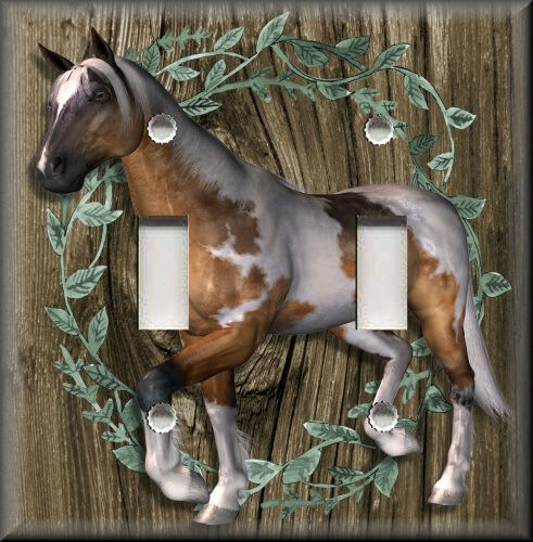 Light Switch Plate Cover Country Western Home Decor
