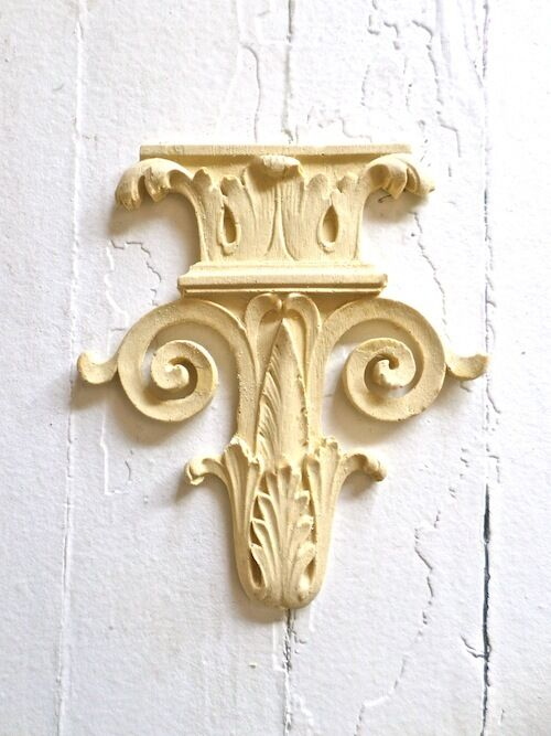 Victorian Carved Furniture Appliques Wood Resin Flexible Stainable Paintable Ebay