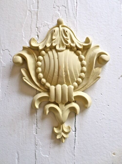 Victorian Carved Crest Furniture Appliques Wood Resin Flexible Stainable New Ebay