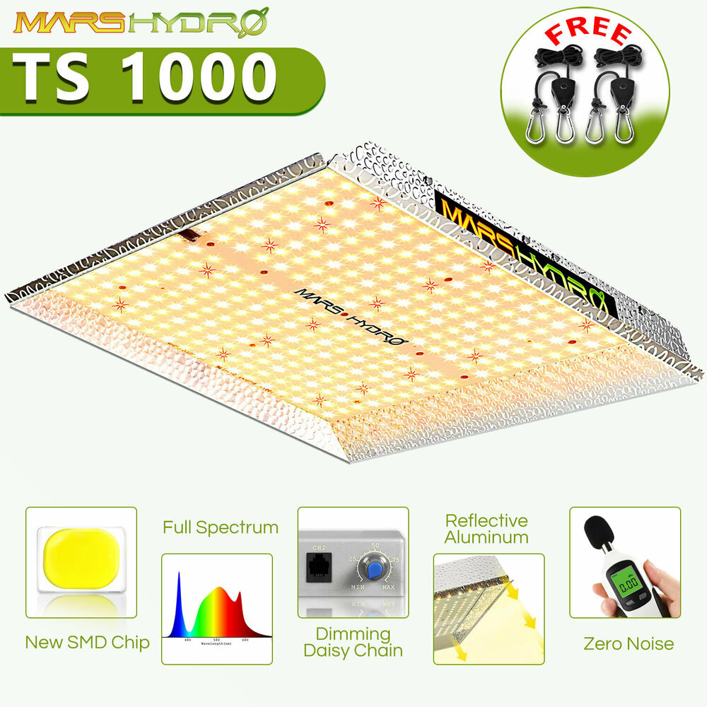 Led Lights Grow: Mars Hydro Led Grow Light Reflector 96 Hydroponic Plant