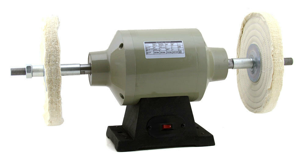 1 2 Hp Single Speed 6 Industrial Grade Bench Grinder Style