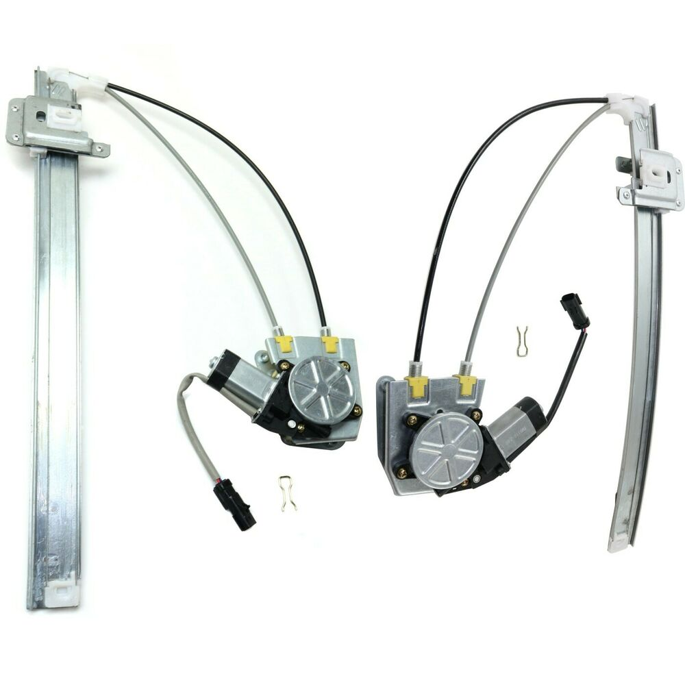 Power window regulator for 2002 2006 jeep liberty set of 2 for 2002 jeep window regulator