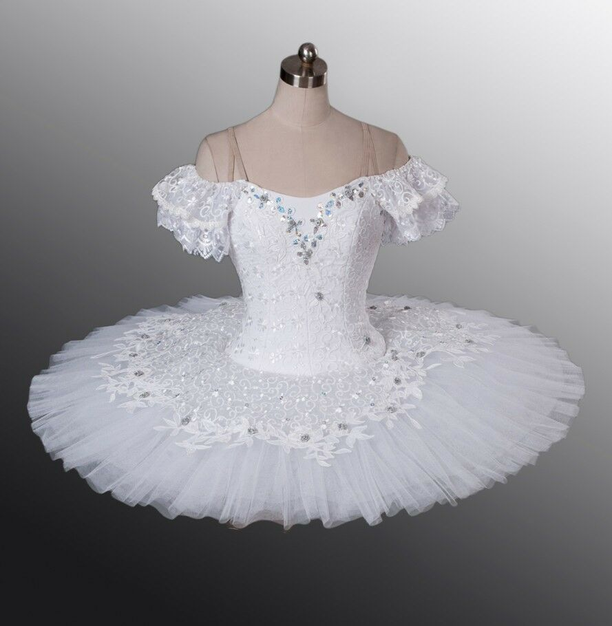 Tutus Tutu: Classical Ballet Tutu -- Performance Quality In White