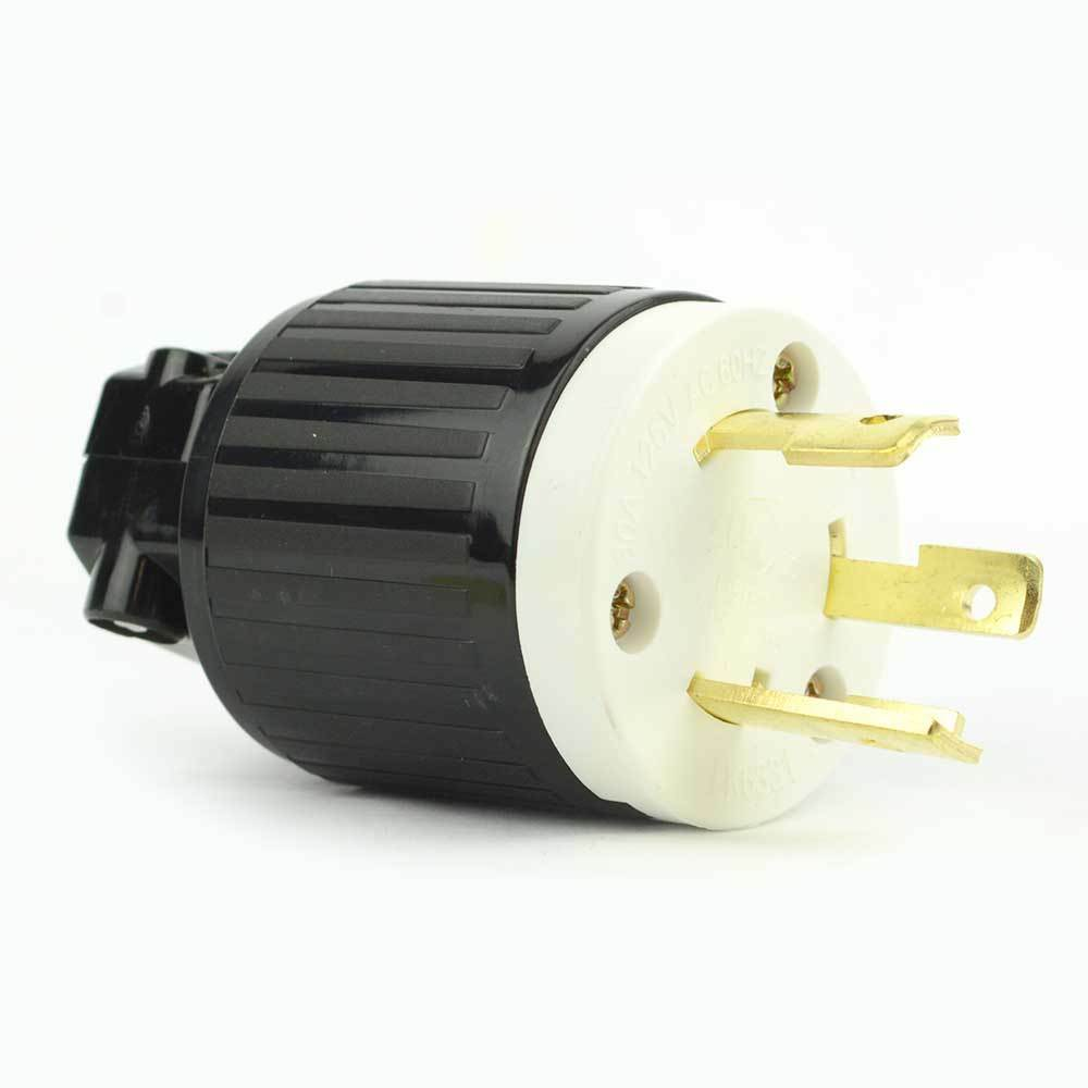 Twist Lock Electrical Plug 3 Wire  30 Amps  125v  Nema L5-30p