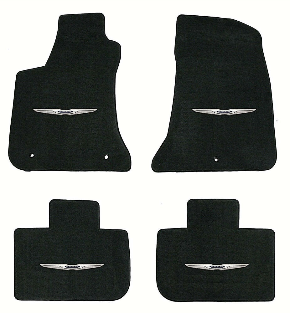 Lloyd Velourtex 4pc Floor Mat Set 2011 2016 Chrysler 300
