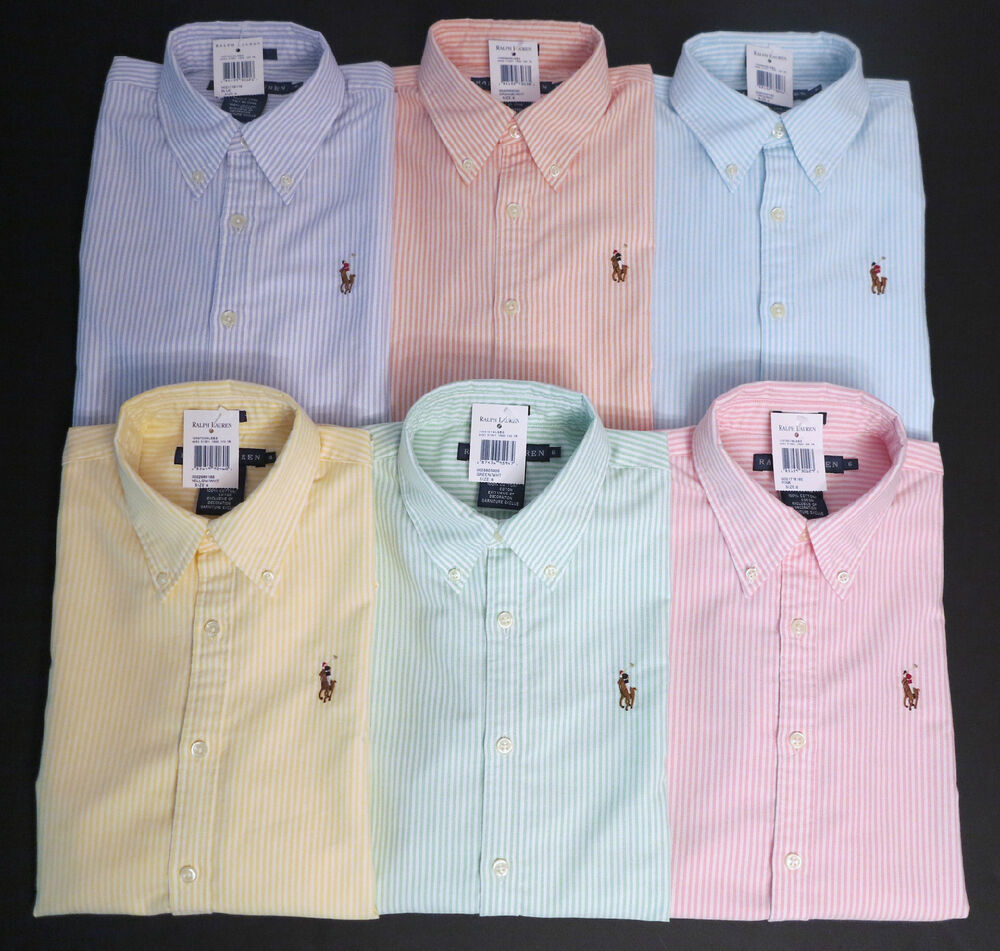 New polo ralph lauren women 39 s long sleeve oxford button for Oxford long sleeve button down shirt
