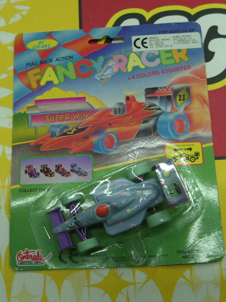 All Cars 1 Race Car Toys : Vintage formula one indy plastic toy racing car