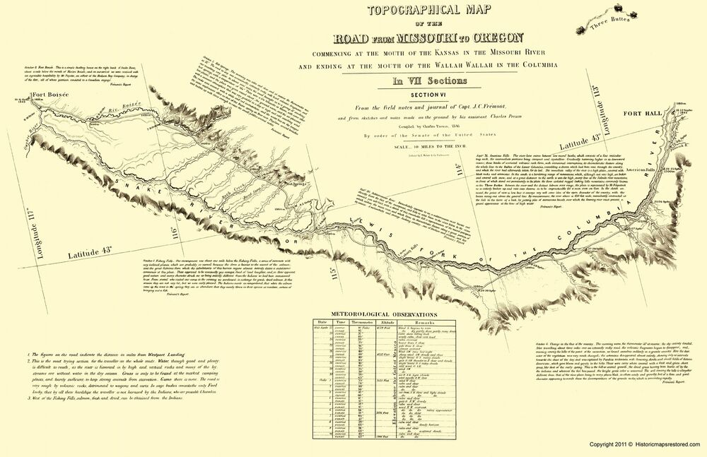 It's just a photo of Adaptable Oregon Trail Map Printable