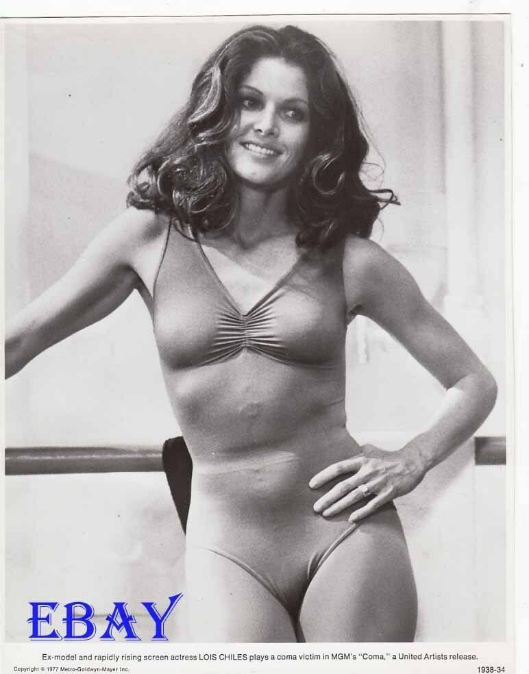Lois Chiles busty sexy VINTAGE Photo Coma   eBay