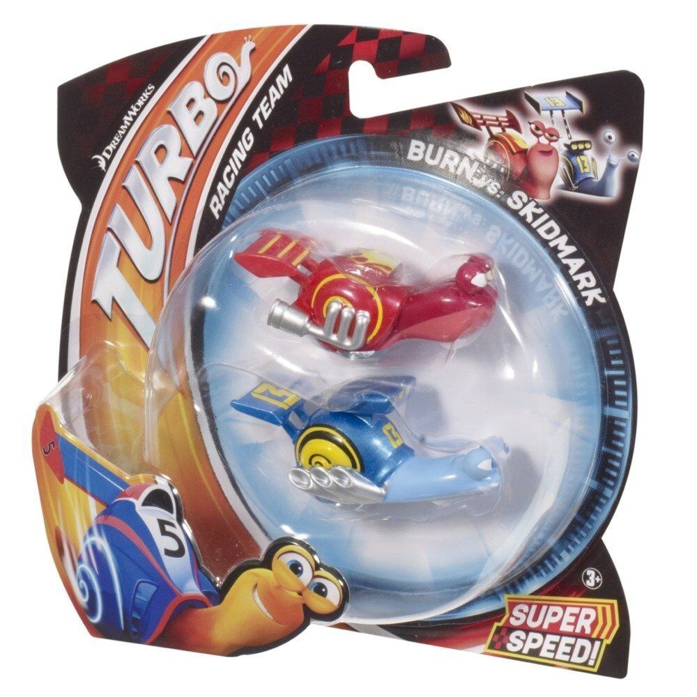 DREAMWORKS TURBO RACING TEAM BURN VS SKIDMARK *NEW* | eBay