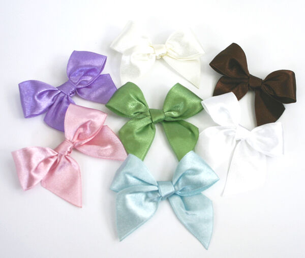 12 Pre Tied Bow Bows Wedding Favor Box Decorations