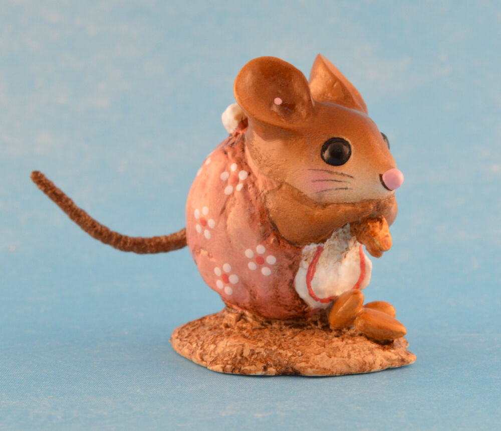 Nibble Mouse By Wee Forest Folk Wff Nm 1 Peachy Pink Ebay