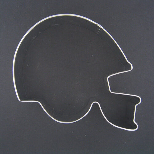 football helmet 45quot metal cookie cutter birthday party With football cookie cutter template