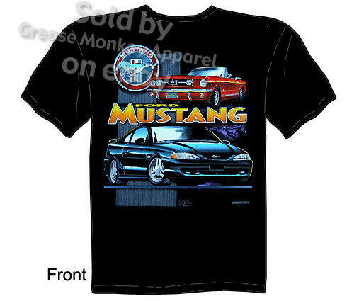 mustang t shirts ford shirt mustang clothes muscle car. Black Bedroom Furniture Sets. Home Design Ideas