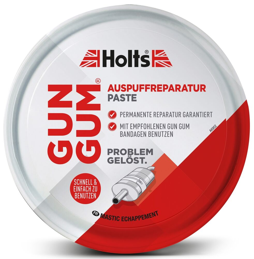 holts gun gum auspuff reparatur paste 200 g gasdicht. Black Bedroom Furniture Sets. Home Design Ideas