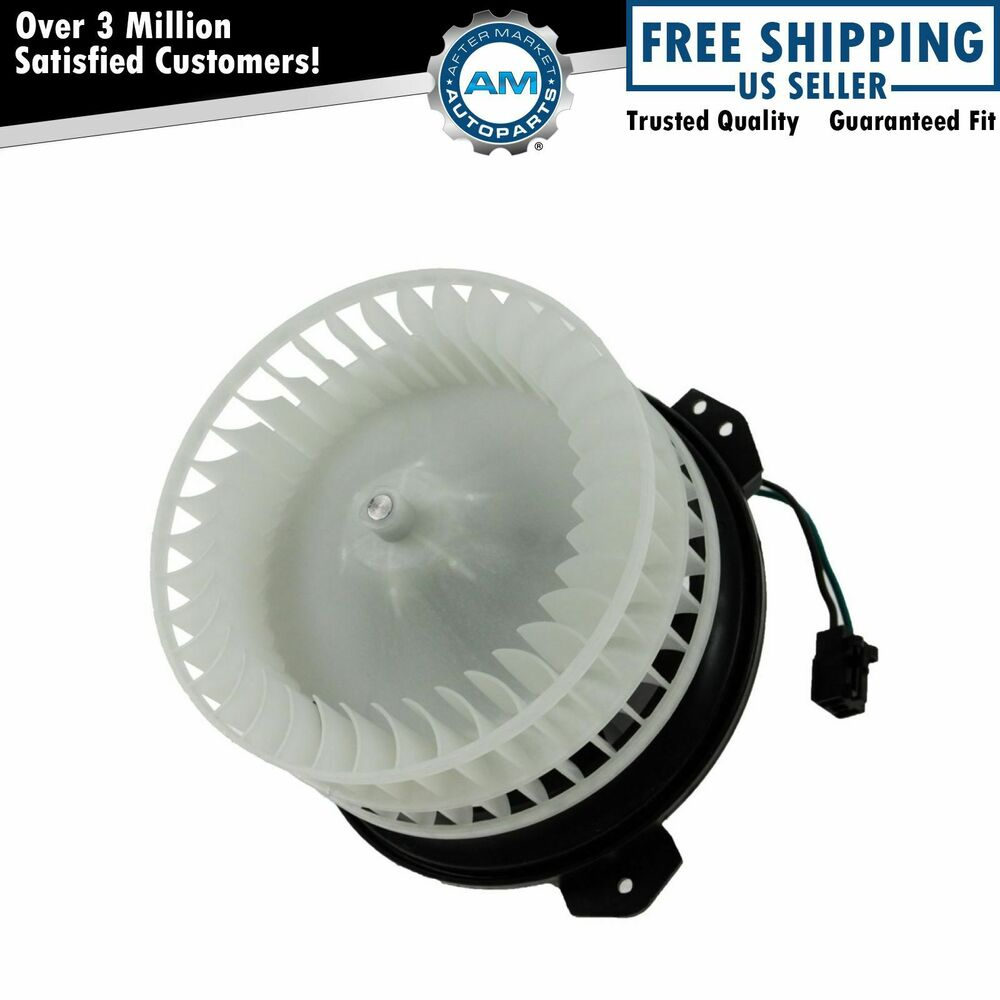Front a c ac heater blower motor w fan cage new for for Buy ac blower motor
