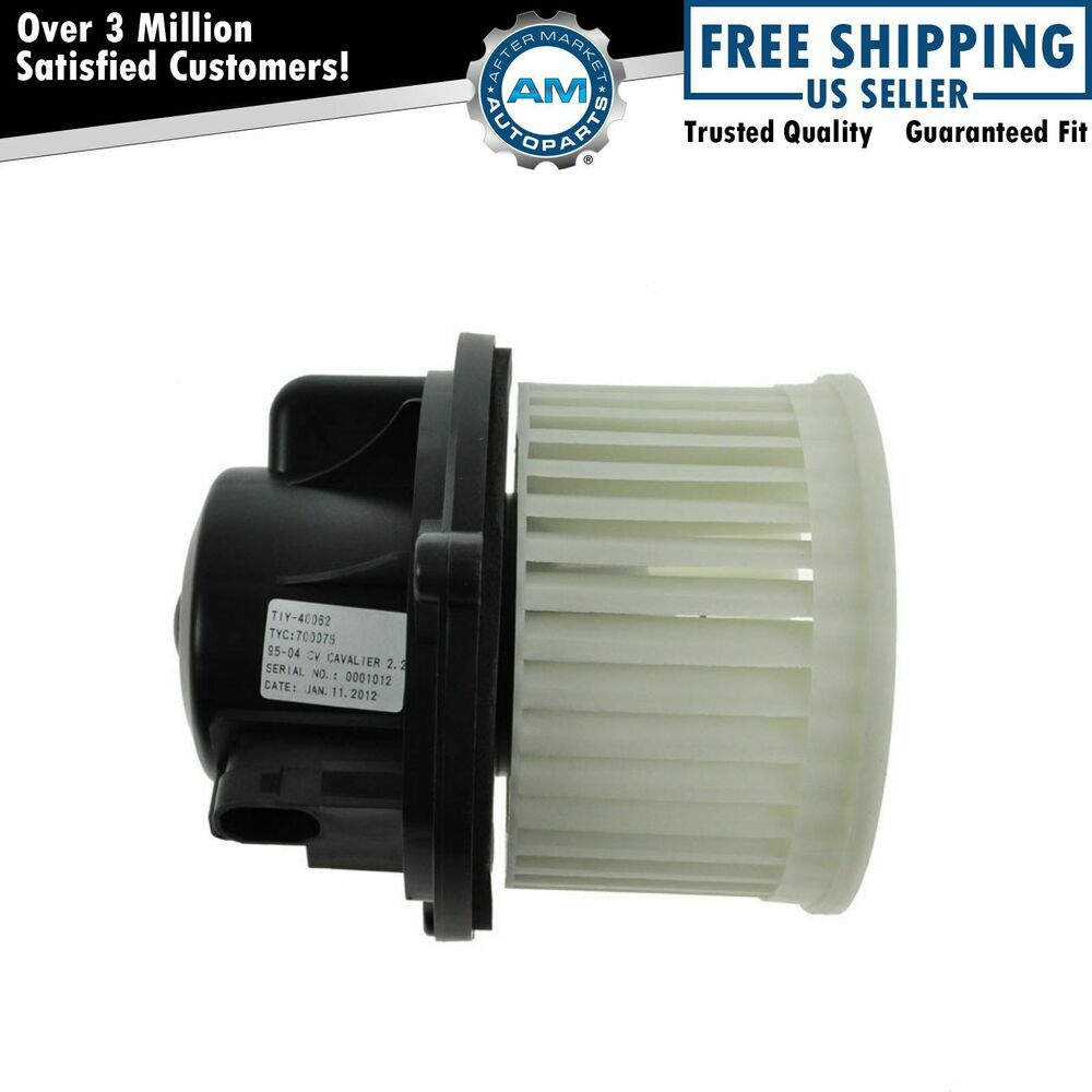 Heater A C Ac Blower Motor W Fan Cage New For Chevy Olds