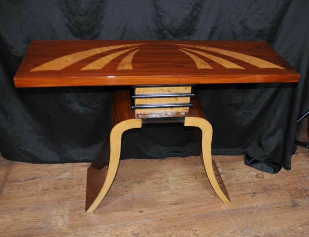 art deco console table hall tables ebay. Black Bedroom Furniture Sets. Home Design Ideas