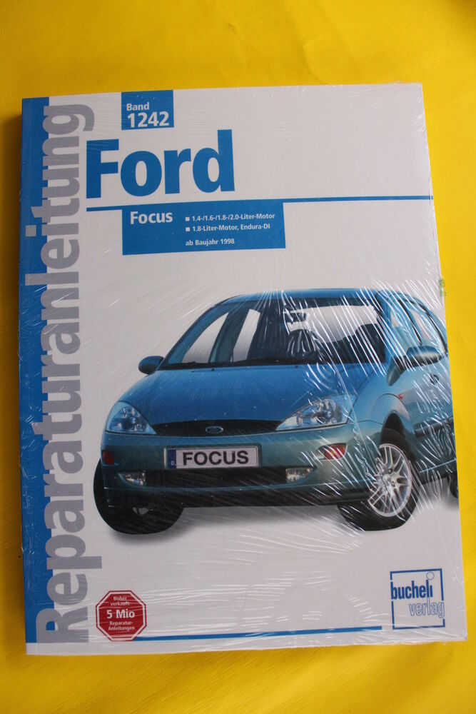 ford focus ab 1998 reparaturanleitung handbuch ebay. Black Bedroom Furniture Sets. Home Design Ideas