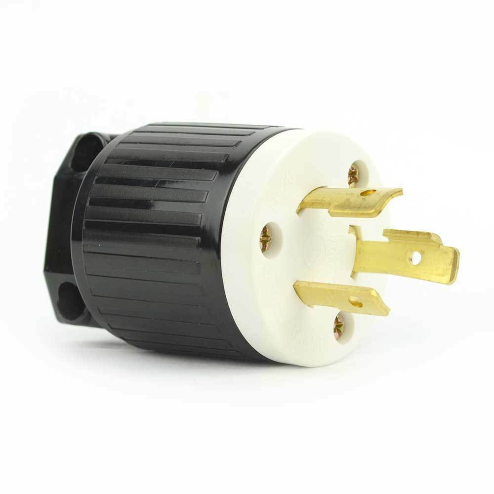 twist lock electrical plug 3 wire 20 amps 250v nema l6. Black Bedroom Furniture Sets. Home Design Ideas