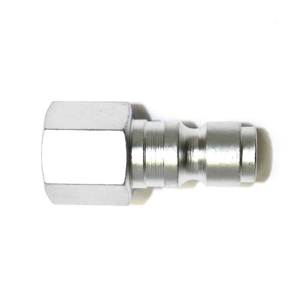 Steel Coupler 3 : Automotive steel coupler plug inch female