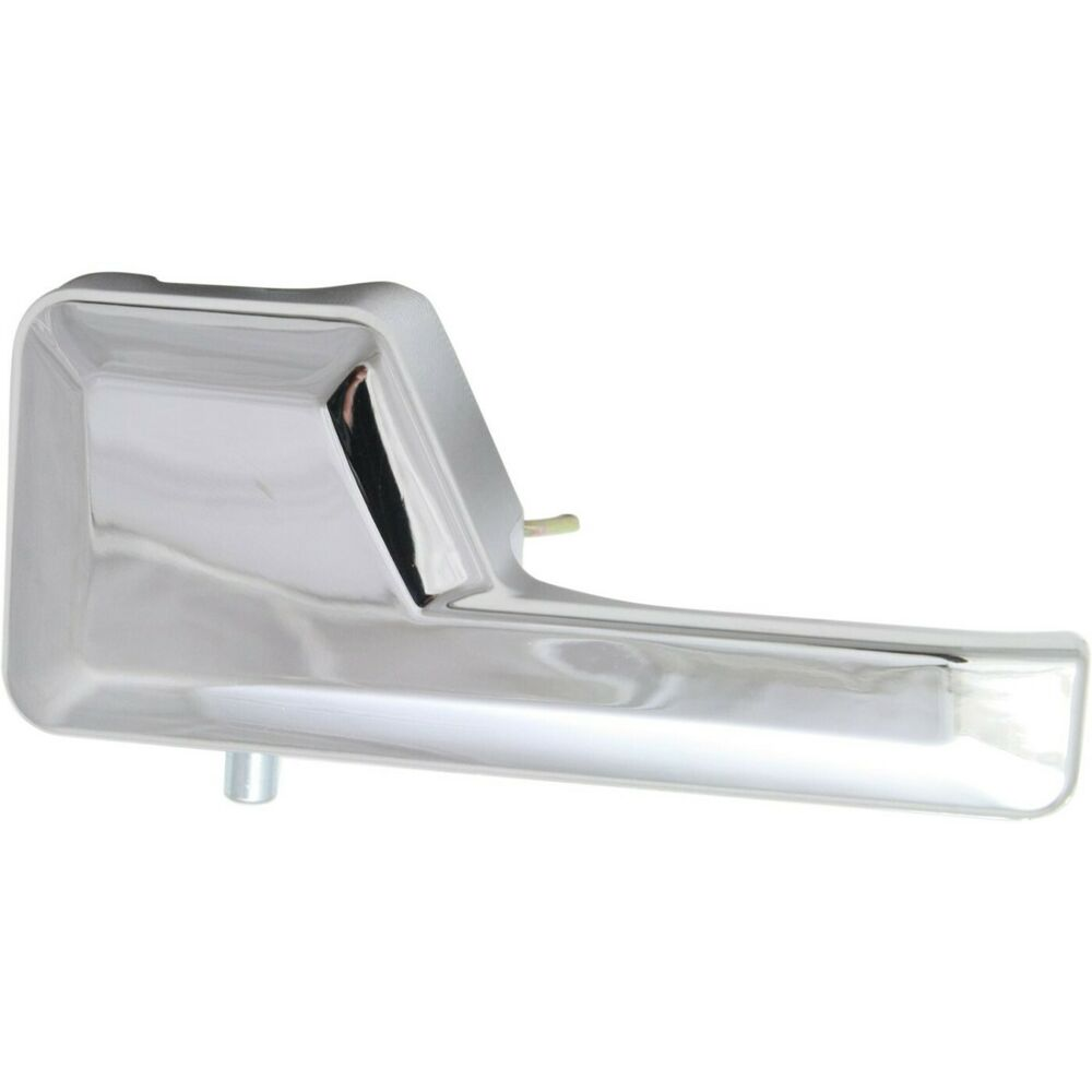 interior door handle for 2007 2011 ford edge lincoln mkx front lh chrome plastic ebay. Black Bedroom Furniture Sets. Home Design Ideas