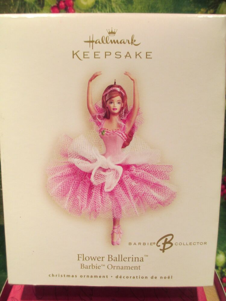Hallmark 2007 flower ballerina barbie ornament ebay Hallmark flowers