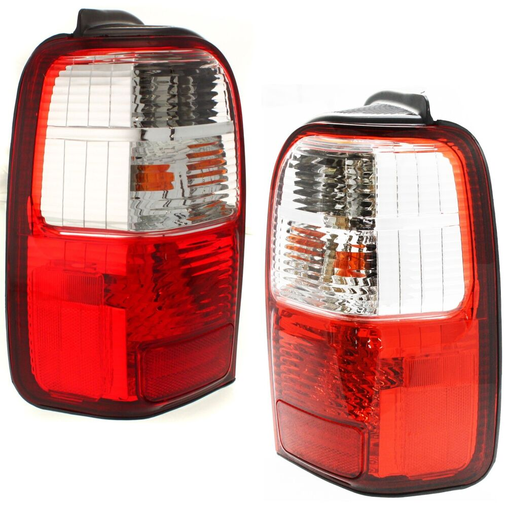 set of 2 tail light for 2001 2002 toyota 4runner lh rh w. Black Bedroom Furniture Sets. Home Design Ideas